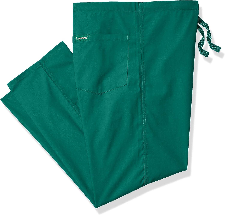 Landau Comfort Stretch One-Pocket Reversible Drawstring Scrub Pant