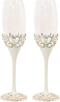 Pearl Champagne Flutes