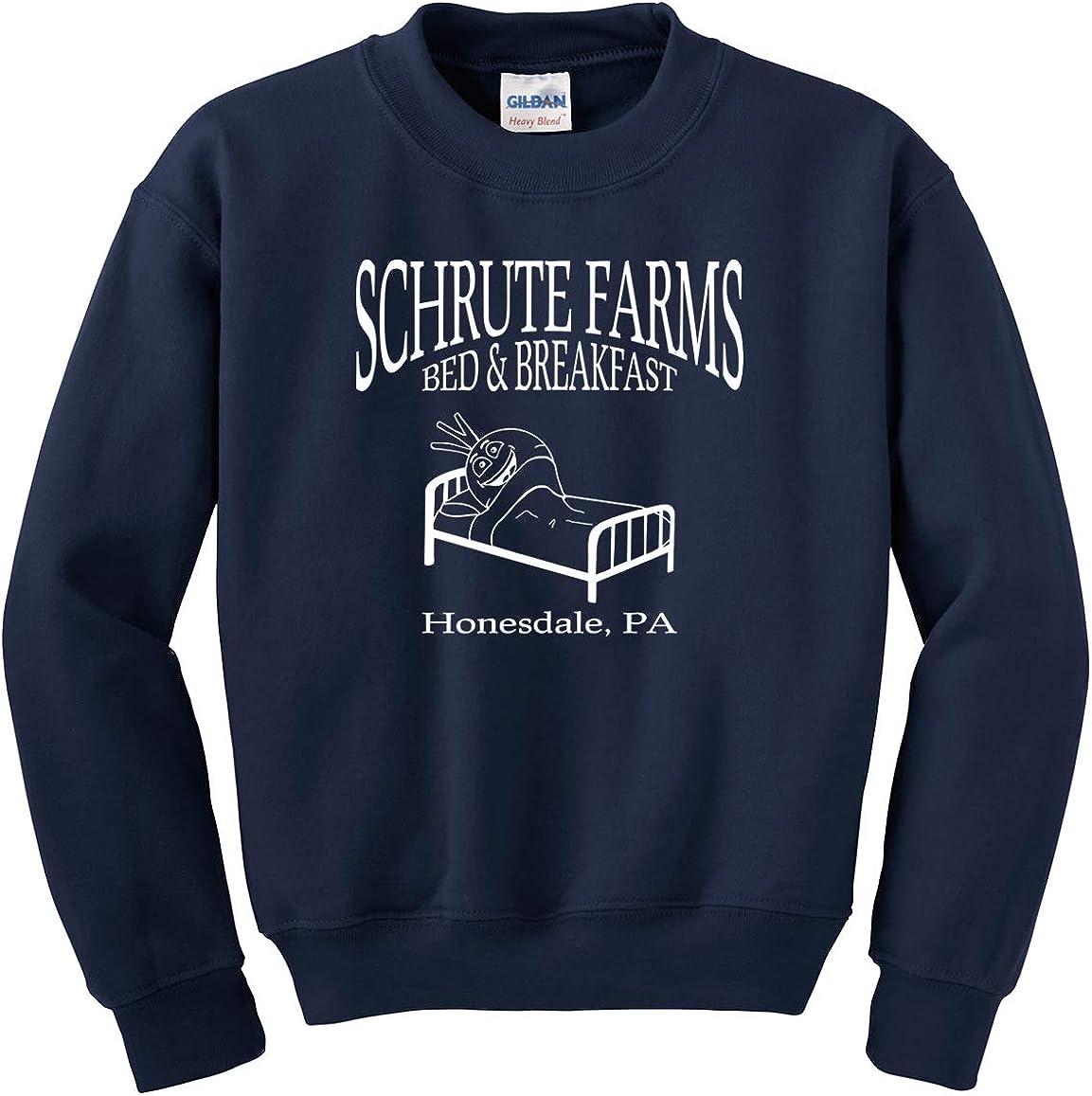 Beetwine Essentials Schrute Farms Bed & Breakfast Sweatshirt Hoodie Unisex