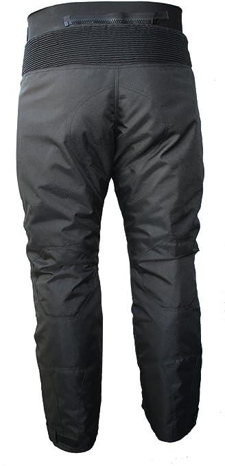 German Wear GW350T - Pantalones de Moto, Negro, 54 EU/XL: 104 cm: Amazon.es: Coche y moto