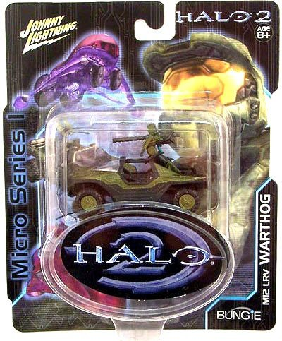 Halo 2 Warthog - JOHNNY LIGHTNING HALO 2 MICRO SERIES MI2 LRV WARTHOG VEHICLE