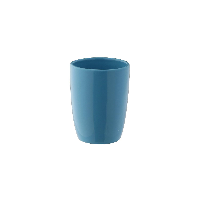 axentia Zahnputzbecher Pisa bordeaux Zahnb/ürstenst/änder mit sch/öner Farbe B/ürstenst/änder mit modernem und schlichtem Design hochwertig verarbeiteter Zahnb/ürstenhalter aus Keramik