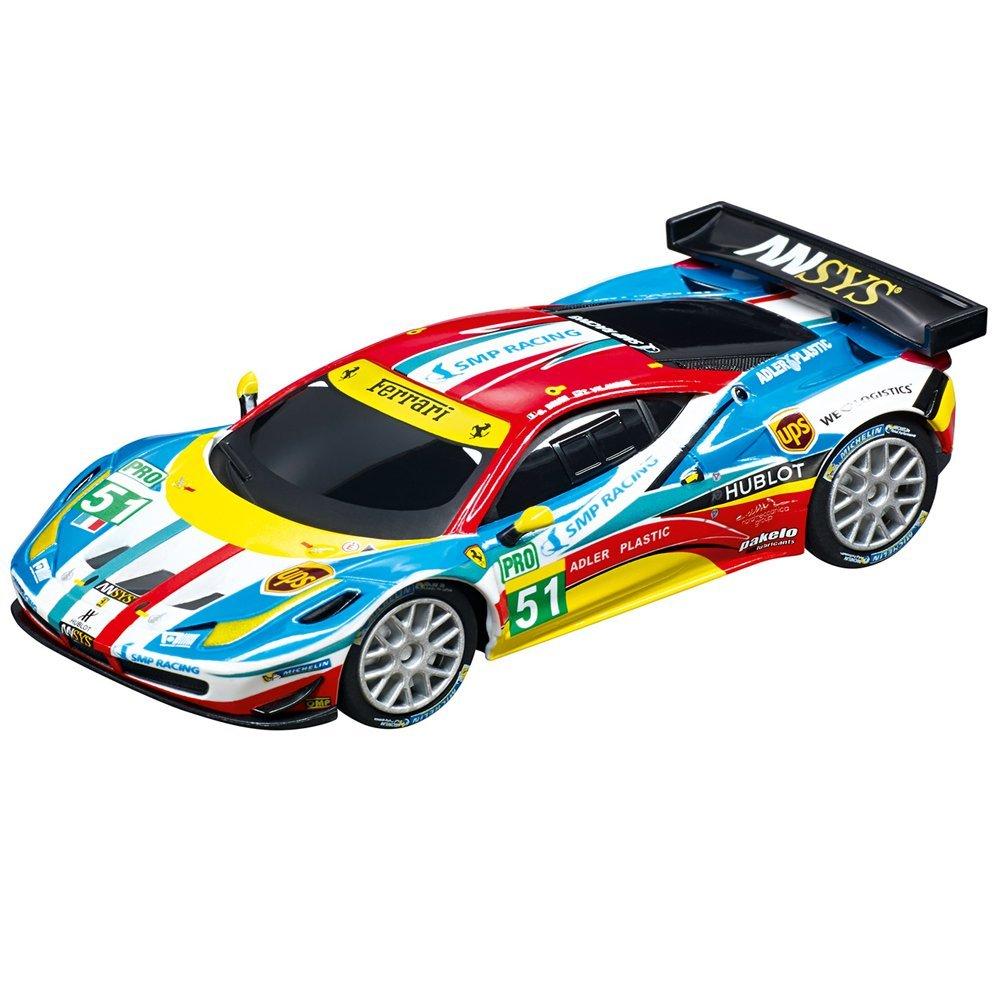 Circuito Speed n Race con Coches de Juguete Mercedes-AMG GT3 No.16 y Ferrari 458 Italia GT2 AF Corse, No.51, 5.4 m (20062396): Amazon.es: Juguetes y juegos