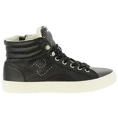 Pepe Jeans Damen Clinton Mesh Hohe Sneaker