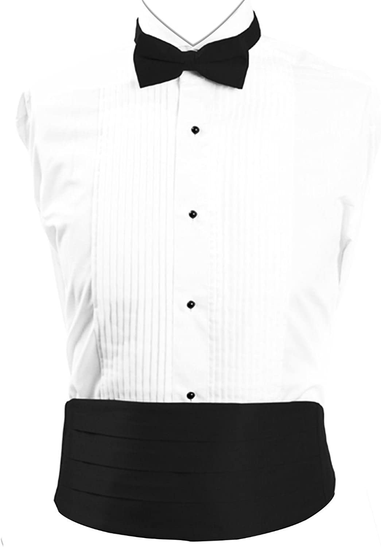 SILK Tuxedo Cumberbund /& BowTie Solid Color Men/'s Cummerbund Bow Tie Set