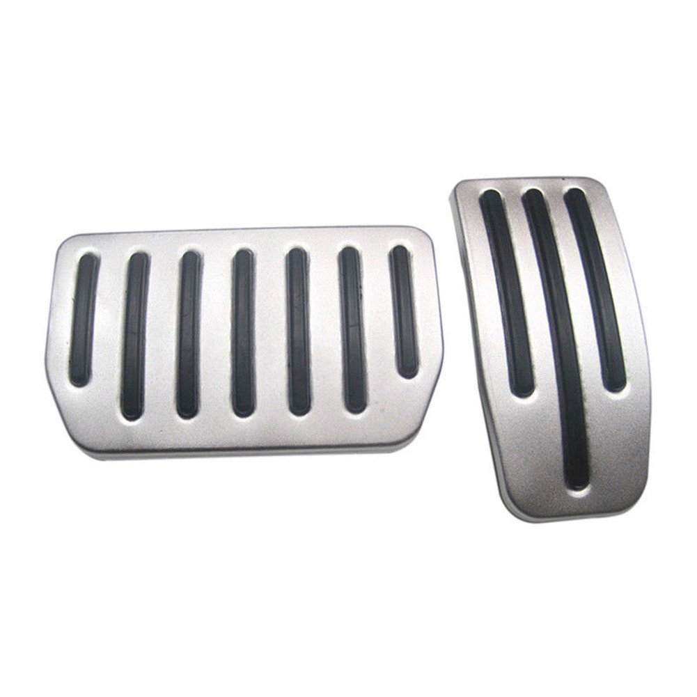 Aluminum Non-Slip Performance Foot Pedal Pads for Tesla Model S and Model X 2pcs