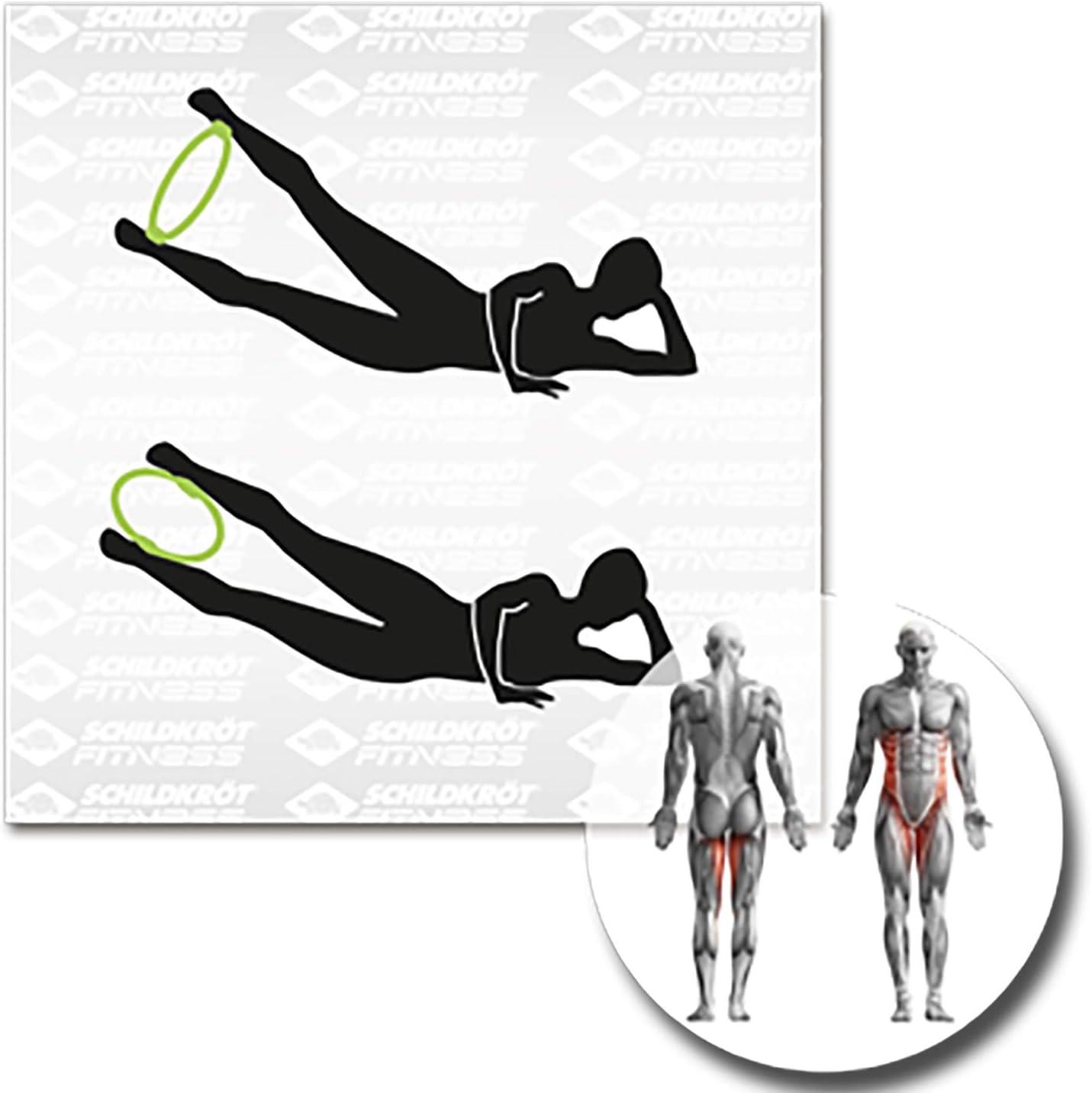 Green-Black Keine Farbe Schildkr/öt Fitness SK Fitness Pilates-Ring,