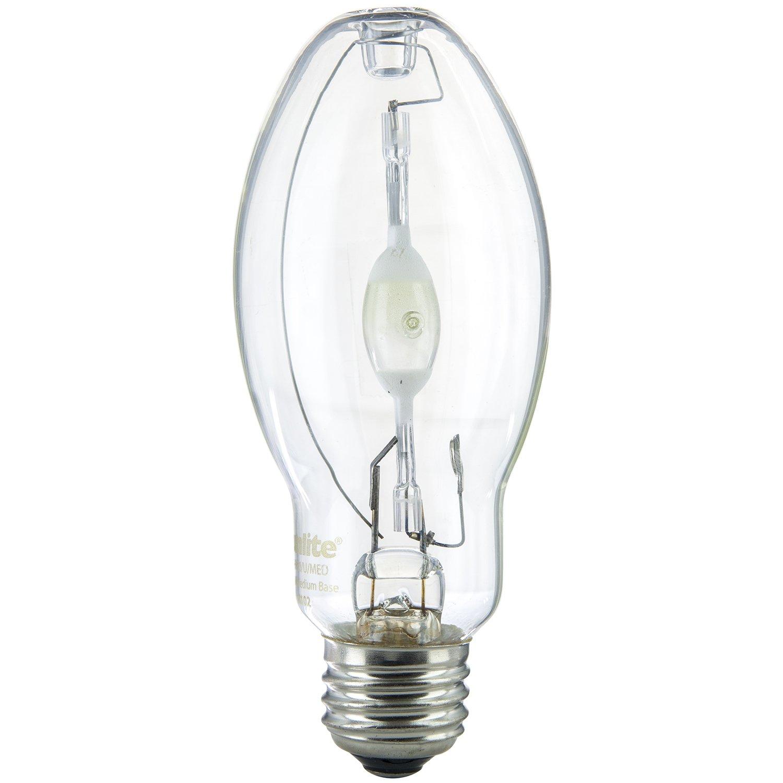 Sunlite Mh100 U Med 100 Watt Metal Halide Bulb Medium Base Clear Incandescent Light Diagram Bulbs High Intensity Discharge