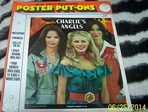 Charlie's Angels Poster Put On Original Item Sealed