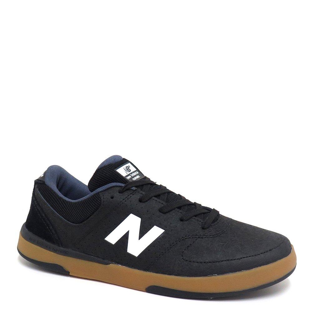 NEW BALANCE NUMERIC SHOES ニューバランス シューズ スニーカー PJ STRATFORD 533 黒/白/ガム NM533BWH B06W56WNPS 26.0 cm -