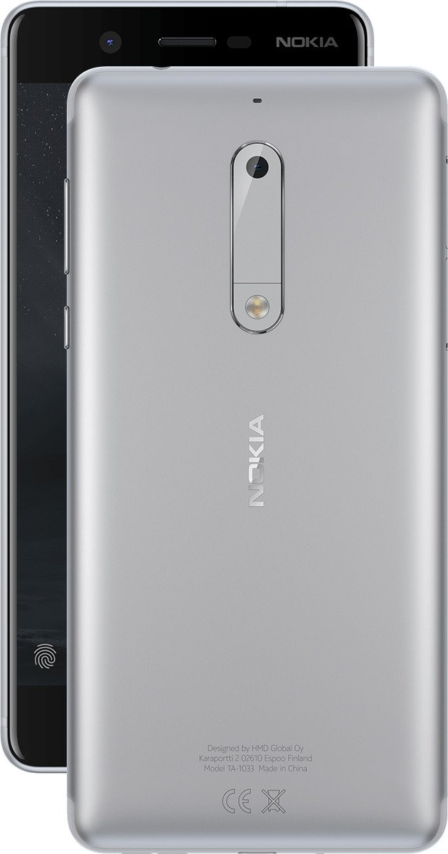 Tim Nokia 5 SIM única 4G 16GB Plata - Smartphone (13,2 cm (5.2