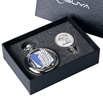 Reloj de Bolsillo clásico para Hombres, Reloj de Bolsillo de Cuarzo con número de Roma para niños, Cadena de Collar y Reloj de Bolsillo para Adolescentes: ...