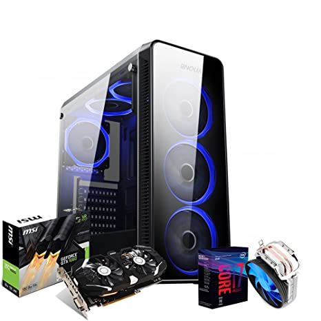 PC Intel Gaming I7 CPU i7 8700 K/Tarjeta de Vídeo gtx1060 3GB/RAM ...