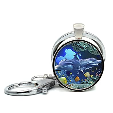 Amazon.com: Hecho a mano llavero dormir de Estrellas de mar ...