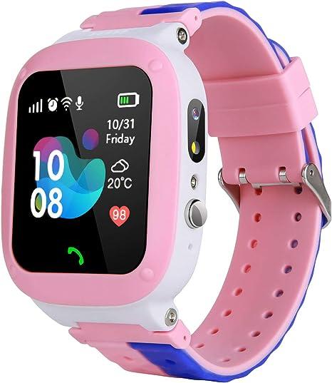 Amazon.com: MeritSoar - Reloj inteligente para niños, WiFi ...
