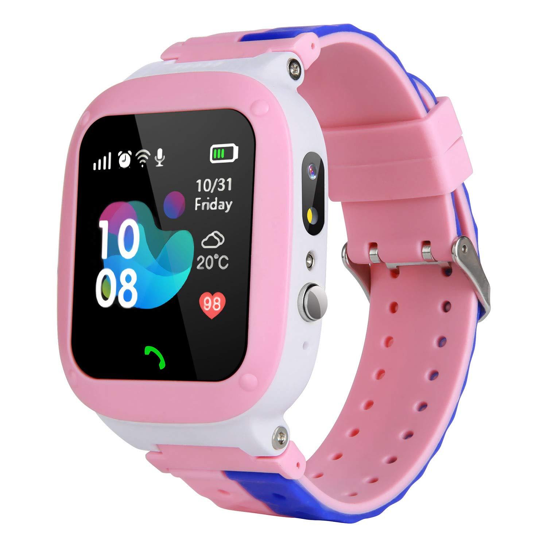 MeritSoar Tech Niños Smart Watch Phone - WiFi + LBS ...
