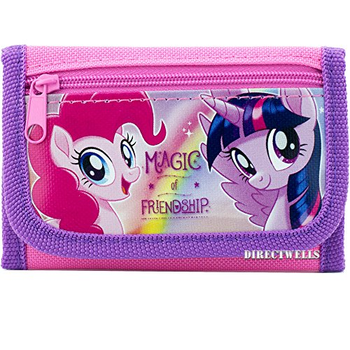 Little Pony Purse (Little Pony Magic of Friendship Authentic Licensed Trifold Wallet)