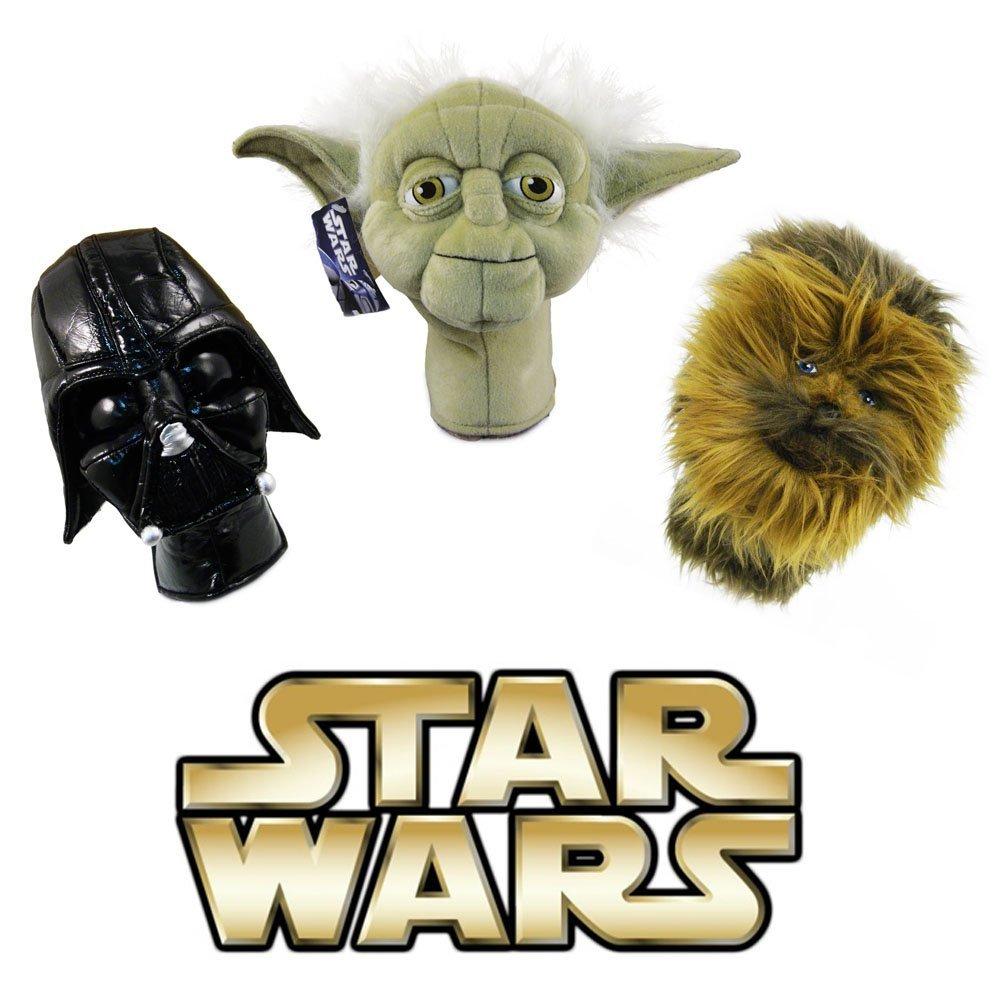 【即納】 Collector Vader, Series Set Licenced Set Head Star Wars Golf Hybrid Head Cover Set (Darth Vader, Yoda, Chewbacca) B006RKAUO8, 飯岡町:622f0231 --- a0267596.xsph.ru