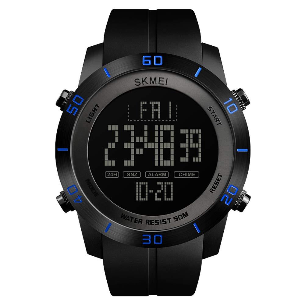 FCXBQ Reloj Deportivo Digital para Hombre, Reloj Electrónico ...