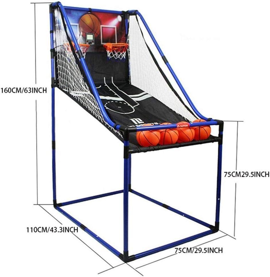 YouYou-YC Aro de Baloncesto Juego de Arcade Soporte de Baloncesto ...