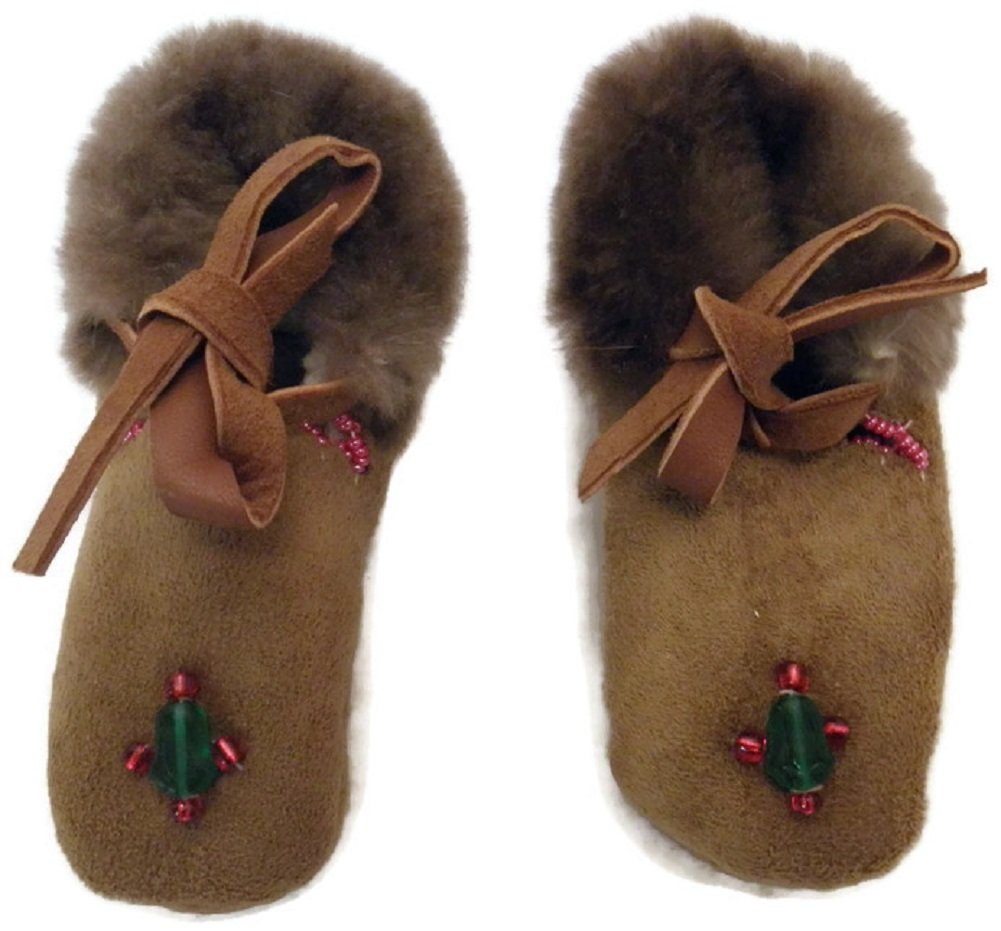 Alaskan Native Handmade Baby Booties by Lilly Killbear