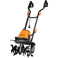 LawnMaster TE1016M Corded Electric Tiller 10-Amp 16-Inch