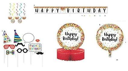 Amazon.com: Decoraciones de fiesta, Sprinkles confetti ...