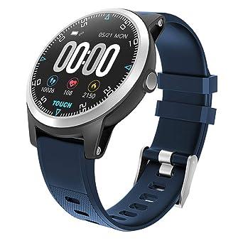 CAOQAO - Reloj de Hombre PPG ECG Monitor de Reloj Inteligente ...