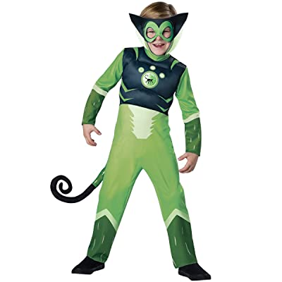 Incharacter Deluxe Wild Kratts Child Costume Green Spider Monkey: Toys & Games