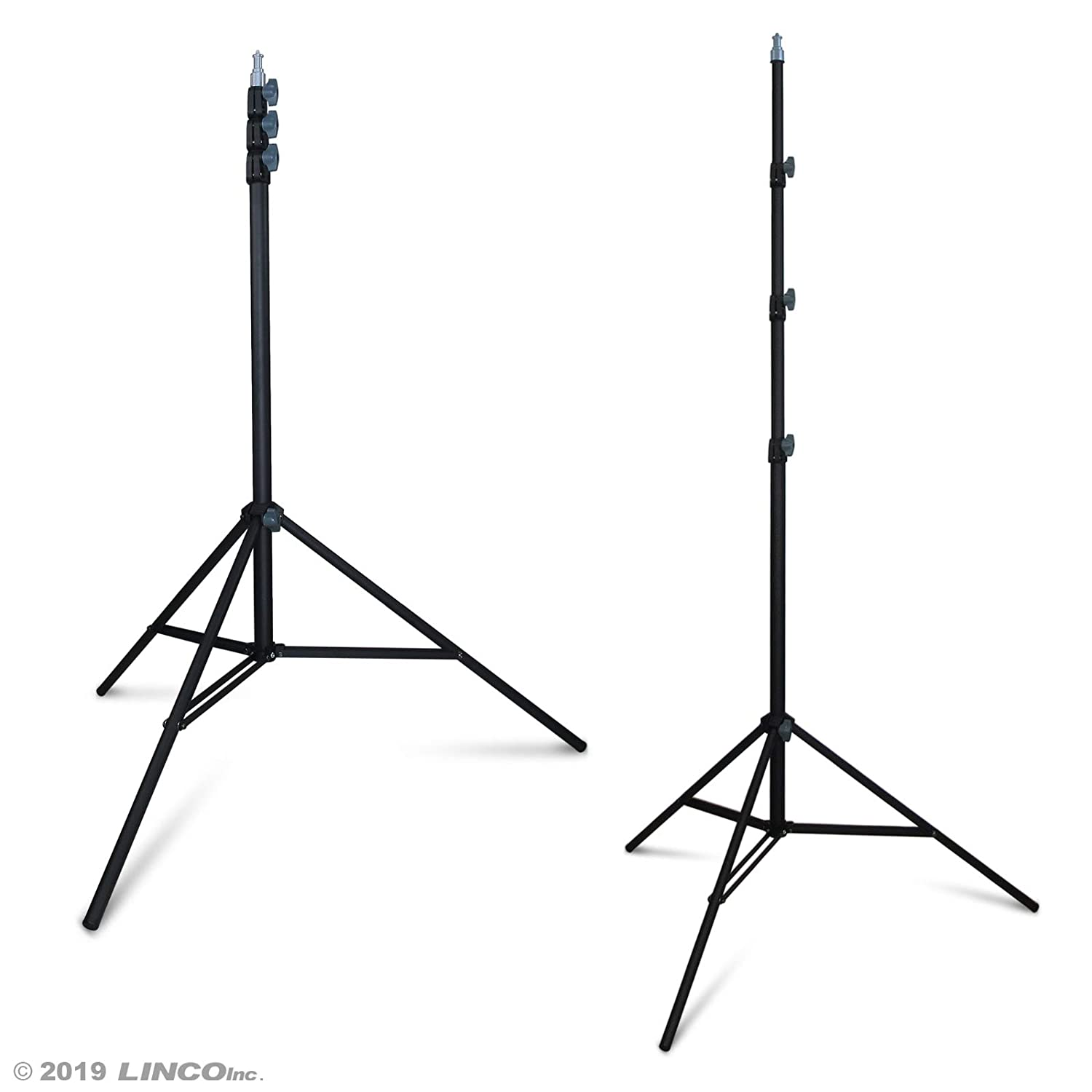 Video and Product Photography Portrait LINCO Lincostore Zenith 9 feet//288 cm Photo Studio Light Stands Set of Two for HTC Vive VR