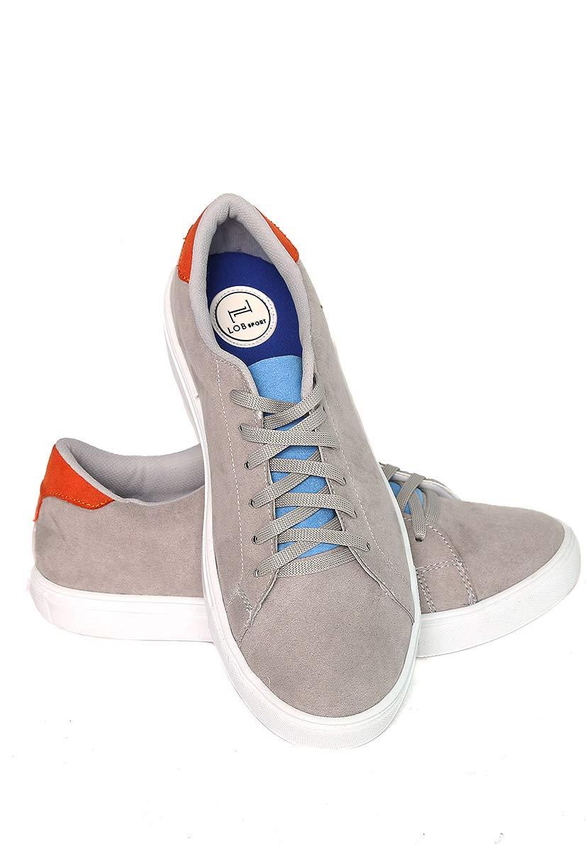LOB footwear Tenis Gris Tenis para Hombre Hombre Hombre 5ceb21