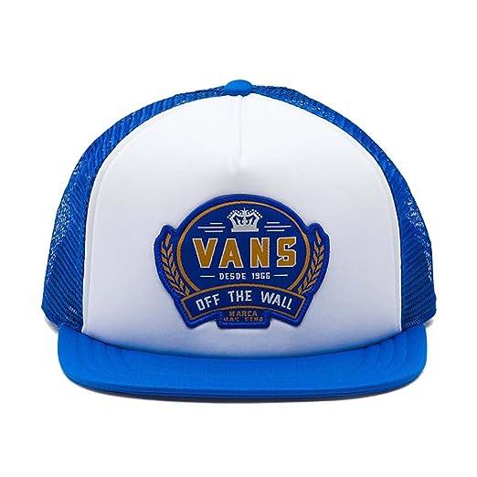 Vans Men s Cold One Snapback Trucker Hat Cap - White Victoria Blue at  Amazon Men s Clothing store  4f10e47a020