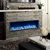 55  Built-in LED Electric Fireplace