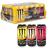 Monster energy rehab variety pack 15.5 oz cans, 24 count