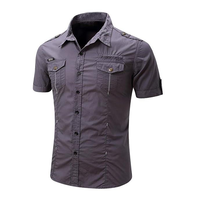 Corta Plus O Collo Shirt Estive Felpe Pullover Maglietta Da Kword Casual Size Top Camicetta T Manica Tumblr Uomo A Camicia Bottone 1c3lFJTK