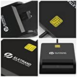 Eletrand DOD Military USB CAC Smart Card Reader