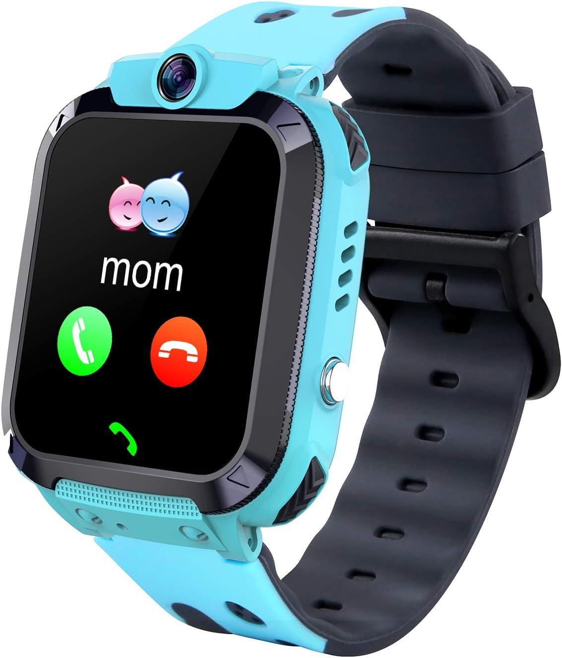 Smartwatch para niños, Resistente al Agua, Reloj Inteligente para niños y niñas, Regalo