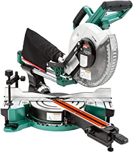"Grizzly PRO T31634-10"" Double-Bevel Sliding Compound Miter Saw"
