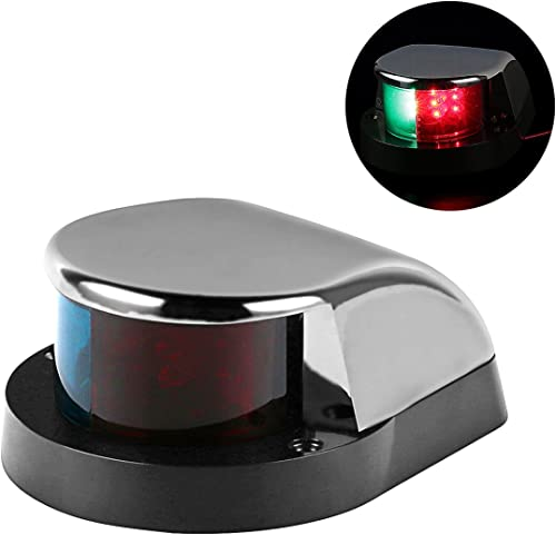 Boat Marine Red and Green LED Navigation Lights/Lamp for Boat Pontoon Yacht Skeeter [LeaningTech] Picture