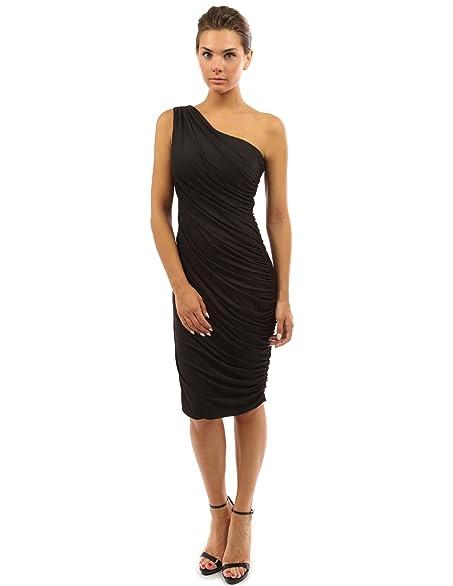 Amazon.com: PattyBoutik Women's One Shoulder Cocktail Dress: Clothing