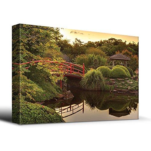Zen Japanese footbridge