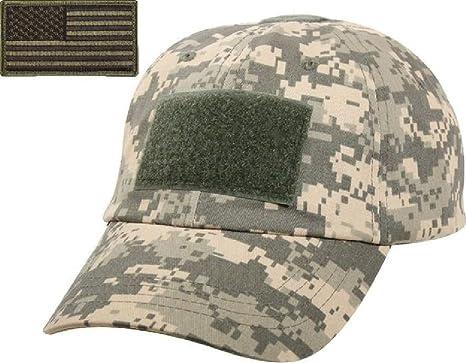 Amazon.com   ACU Digital Camo Military Tactical Operator Cap Olive ... ee1b4b6695f