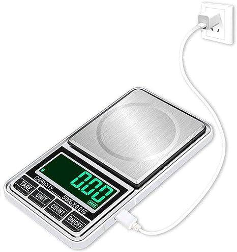 Portable Digital Pocket Scale 500g//0.01g Mini Jewellery Gram Weighing Scale