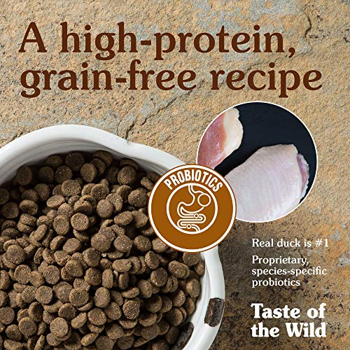 Large Product Image of Taste of the Wild Grain Free High Protein Dry Dog Food Wetlands - Roasted Duck