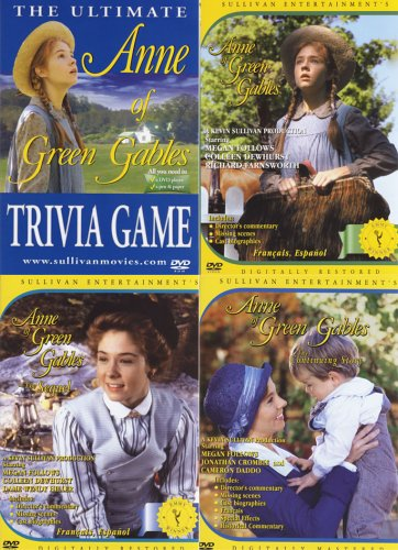 Anne of Green Gables, The Sequel, The Continuing Story, Trivia DVD Game(4 Pack)