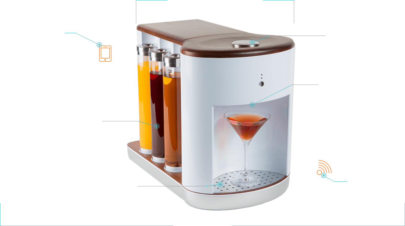 Somabar | Robotic Bartender for your Home