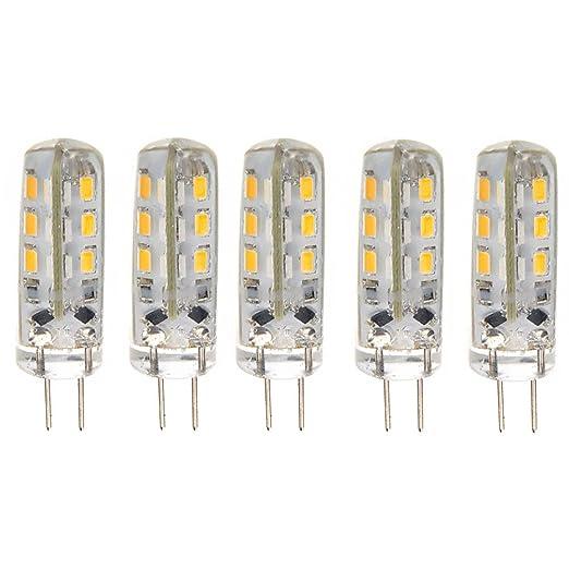 Domire - bajo consumo G4 DC 12 V 1,5 W 24 3014 SMD LED ...