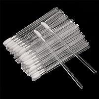 200PCS Cepillos Labios Pinceles Desechables Cepillo de Labios Desechable Cepillo Varitas de Brillo Pincel de Labios para…