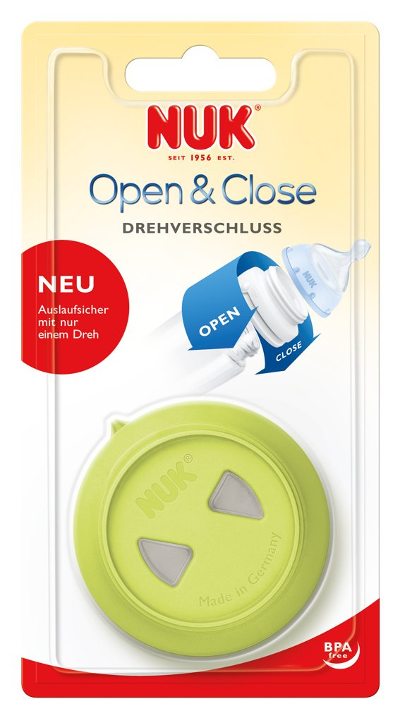 NUK 10256138 tap/ón de rosca a prueba de fugas libre de BPA blanco para botellas First Choice Beb/é 1 pieza