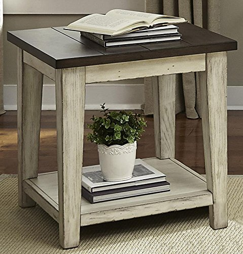 dustries 612-OT1020 Lancaster End Table, 24